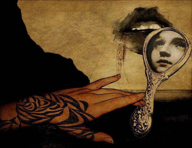 Femme miroir page 3 for Chimene badi le miroir